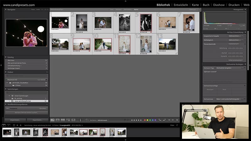Lightroom workflow mit Ingo